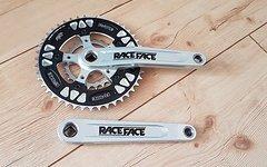 Race Face Turbine Kurbel 4 kant 175mm 5x110mm inkl. Kettenblätter