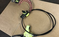Magura Raceline HS33 mit Alutech Brake Booster