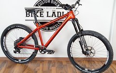 Dartmoor Hornet red devil Enduro Rock Shox Pike,Sram GX,Spank Oozy Trail Shimano XT