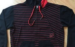 Fox  Racing Zip-Hoody, Zipper, Kapuzenjacke, L, schwarz-rot