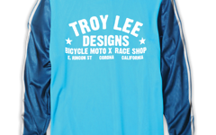 Troy Lee Designs Super Retro Jersey Cyan Gr. M NEU