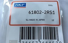 SKF Demo 8 Bearing 6802 2RS Kugellager Lager