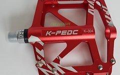 Aluminium Enduro Pedale *rot* - Paarpreis
