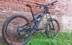 Nicolai ION 20 DH Bike ready to race mit Magura MT7,Shimano Saint...