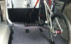 MWP Fahrrad Halteplatte für VW T5 Caravelle