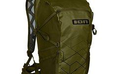 ION Backpack Rampart 16, olive, Gr. L/XL inkl. Protektorplatte und Raincover