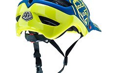 Troy Lee Designs A1 HELM DRONE NAVY/YELLOW 2016