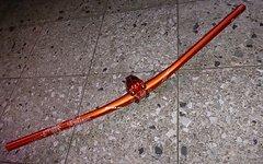 Easton Havoc Lenker Vorbaut Set orange 31,8 x 35mm und 750 x 20mm