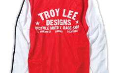Troy Lee Designs Super Retro Jersey Red Gr. M NEU