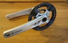 Shimano Xt FC-M770 175mm 36 / 22 / Carbon-Bashguard