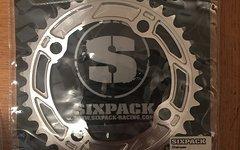 Sixpack Chainsaw Kettenblatt 36z Silber