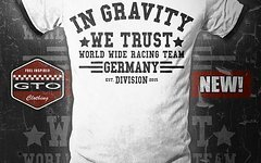 "In Gravity We Trust ""Divisions"" Racing Team T-Shirt 