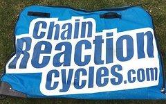 Chainreactioncycles Fahrradtasche Fahrradkoffer Bikebag Rollen in Bus Bahn Flugzeug