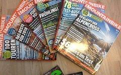 Mountainbike Magazin Heft 1 bis 6 von 2018 und