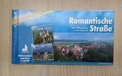 Bikeline Radtourenbuch Romantische Straße - Würzburg / Füssen