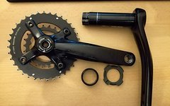 Specialized Custom SRAM S-1250, PF30 spindle, 175mm