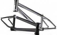 Dartmoor Yuki v.2 BMX Rahmen brushing matt black Street/Park