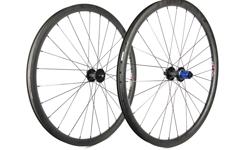 "Radsporttechnik Müller Laufradsatz 29"" Carbon Boost (black)25mm innen - Tune King+Kong CX Ray 1395g"