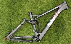Rotwild X1 FS 26 Rahmen Gr. S - L grey-matt NEU