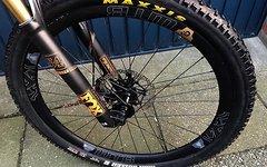 Hope Pro 4 - Wtb Carbon Ci24 650b Boost wheel set