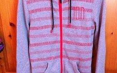 ION zip hoody dotty grau, Neu mit original Ettikett, Gr. XS-S
