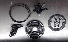 Shimano XT 2x10-fach Umwerfer FD-M786A Direct Mount schwarz