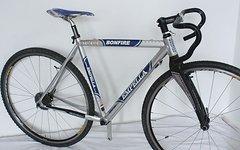 Empella BONFIRE Cyclocross Rahmen mit Empella Carbongabel - RH 49