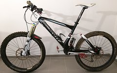 Scott GENIUS 40 - 2011 - Fully Mountain Bike - Fox Talas