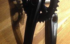 Shimano xT Kurbel 175mm 2 Fach