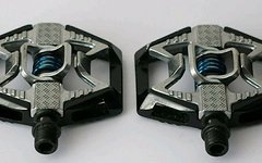 Crankbrothers Doubleshot Pedale schwarz-silber – Klickpedale