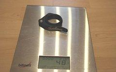 Salsa Sattelklemme Schnellspanner 34,9mm für 31,6 / 30,9 mm schwarz, flip lock