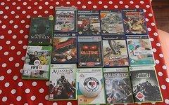 14 Stück PS2 und Xbox 360 Spiele