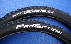 Continental 2 X King Protection  27,5 x 2,4 fast neu