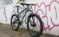 """On One 456 evo II 18"""" L ,""""Harald"""", PIKE 454, Flow EX, Hope Pro II, Race-Face Sixc Carbon, Maxxis, One up"""