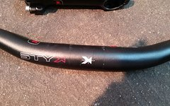 Styx Lenker und Vorbau 620mm / 100mm