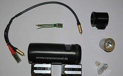 Osram,eigenbau...... Teile für Selbstbaulampe ( Akkus, Elektronik, Gehäuse....)