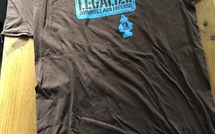 Dimb T-Shirt Legalize Downhill Freeride L braun Top