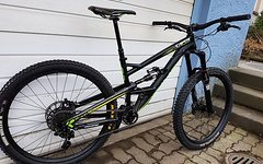 YT Industries Capra AL1 2015 / Syntace W35 MX / FAST 3Way / nagelneue Guide R / OneUp / Huber Bushings