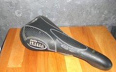 Selle Italia Flite Genuine Gel Sattel schwarz