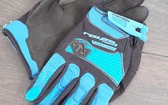 Royal Racing Handschuhe Turbulence Electric Blau/Schwarz