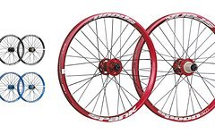 "Spank Spoon28 20"" Kids wheelset 15mm + QR/135mm"
