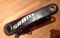 SRAM Kurbel S2200 / X0 - Carbonkurbel