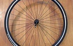 Novatec Rennrad Vorderrad komplett mit Schlauch und Mantel