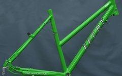 Trekkingrad Damen Rahmen in 50cm apple green /  aus Umbau
