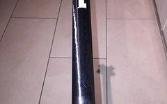 Procraft PRC Vollcarbon Sattelstütze 27,2/ 350mm/ Titanschrauben
