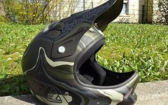 Troy Lee Designs D2 Composite Galaxy Matt Green M/L