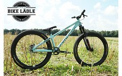 Green Bicycles Scope Custom Dirt/Street/Pumptrack Bike Rock Shox Pike DJ,Noa-Bl-Evo-3 Naben,Spank,Sram GX/X0,Chromag