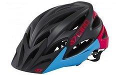 Giro Fahrradhelm XAR black/glowing red/blue Grösse M Neu