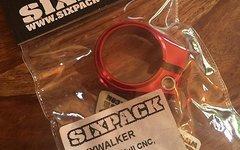 Sixpack Sattelklemme Skywalker (31.8mm) Rot
