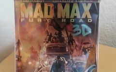 Mad Max Fury Road 3D Steelbook Blu Ray mad max
